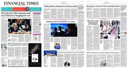 Financial Times USA – September 05, 2017