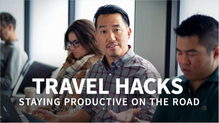 Travel Hacks: Staying Productive on the Road