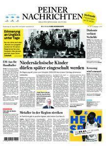 Peiner Nachrichten - 25. Januar 2018
