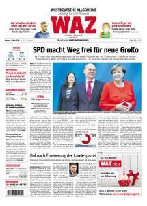 WAZ Westdeutsche Allgemeine Zeitung Oberhausen-Sterkrade - 05. März 2018