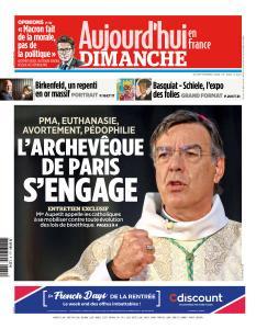 Aujourd'hui en France du Dimanche 30 Septembre 2018