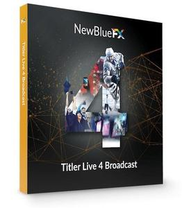 NewBlueFX Titler Live 4 Broadcast 4.0.190919