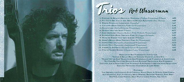 Rob Wasserman - Trios (1994)