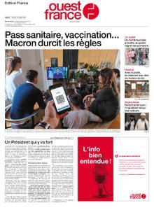 Ouest-France Édition France – 13 juillet 2021
