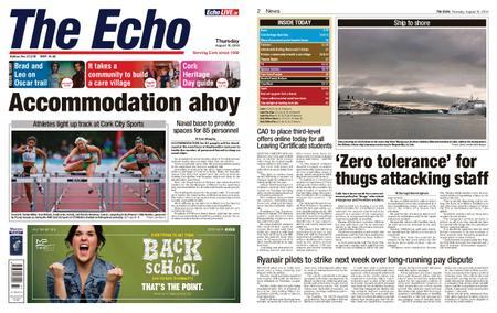 Evening Echo – August 15, 2019