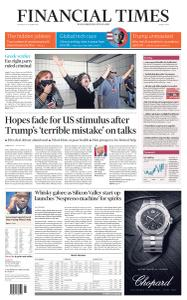 Financial Times Middle East - October 8, 2020