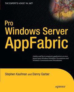 Pro Windows Server: AppFabric (Repost)
