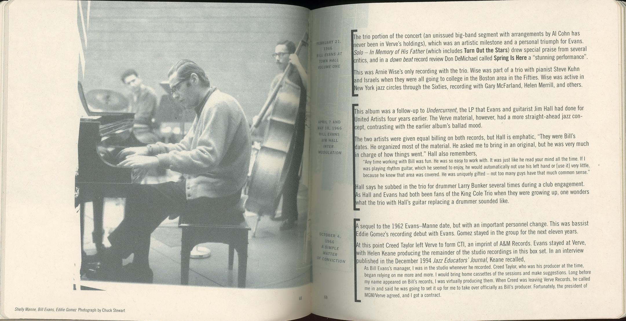 Bill Evans - The Complete Bill Evans On Verve (1997) {18 CD