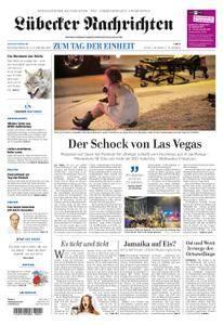 Lübecker Nachrichten Ostholstein Süd - 03. Oktober 2017