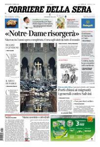 Corriere della Sera - 17 Aprile 2019