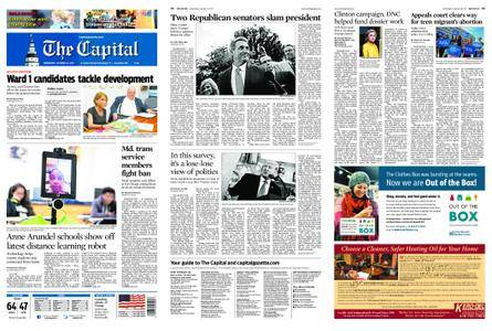 The Capital – October 25, 2017
