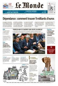 Le Monde du Vendredi 29 Mars 2019
