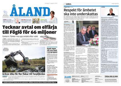 Ålandstidningen – 17 augusti 2019