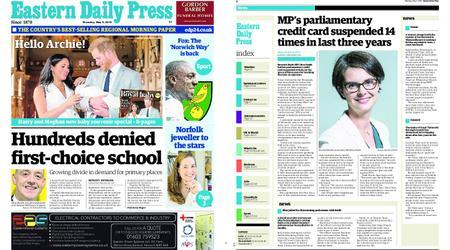 Eastern Daily Press – May 09, 2019