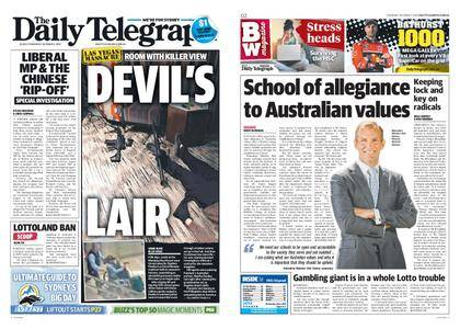 The Daily Telegraph (Sydney) – October 05, 2017