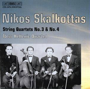 New Hellenic Quartet - Nikos Skalkottas: String Quartets Nos. 3 & 4 (2000)