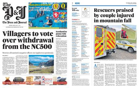 The Press and Journal Moray – June 15, 2021