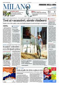 Corriere della Sera Milano – 08 agosto 2020