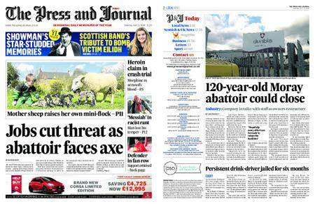 The Press and Journal Moray – April 21, 2018