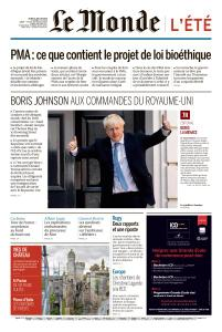 Le Monde du Jeudi 25 Juillet 2019