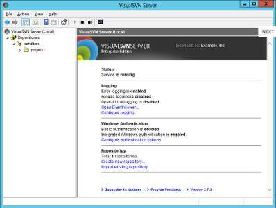 VisualSVN Server Enterprise 4.0.0