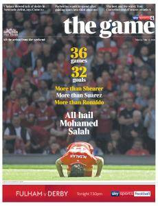 The Times - The Game - 14 May 2018