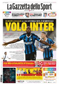 La Gazzetta dello Sport Roma – 11 agosto 2020