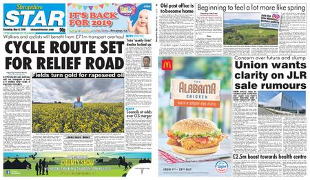 Shropshire Star Shrewsbury Edition – May 11, 2019