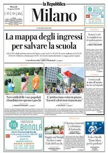 la Repubblica Milano - 11 Agosto 2020