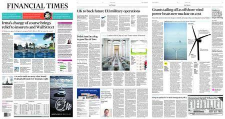 Financial Times UK – September 12, 2017