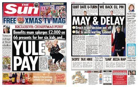 The Sun UK – 15 December 2017