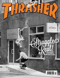 Thrasher Skateboard Magazine - July 2017