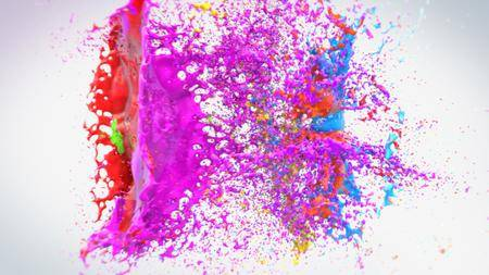 Colorful Splash Logo - Project for After Effects (VideoHive)