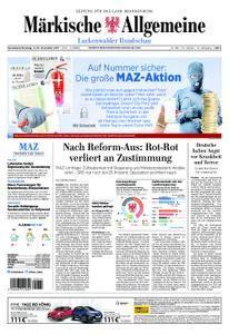 Märkische Allgemeine Luckenwalder Rundschau - 11. November 2017