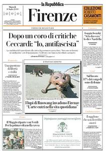 la Repubblica Firenze - 14 Luglio 2020