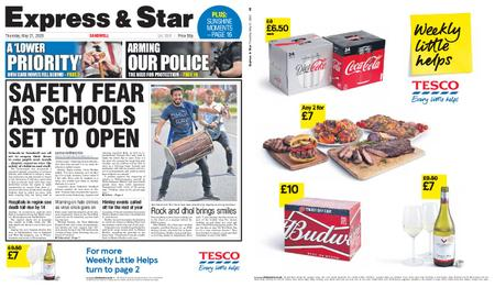 Express and Star Sandwell Edition – May 21, 2020