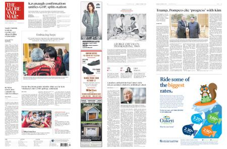 The Globe and Mail – October 08, 2018
