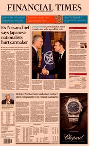 Financial Times Europe – 29 November 2019