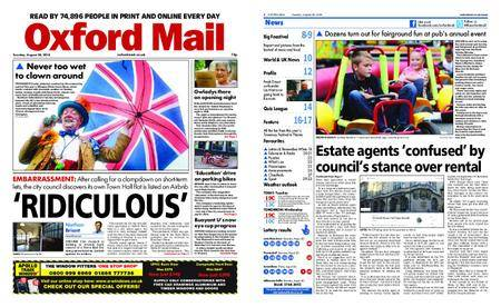 Oxford Mail – August 28, 2018