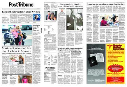 Post-Tribune – August 13, 2020