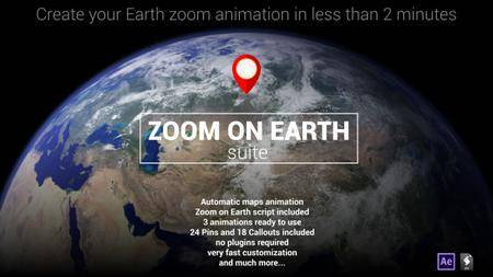 Zoom On Earth Suite (Updated) - Project for After Effects (VideoHive)
