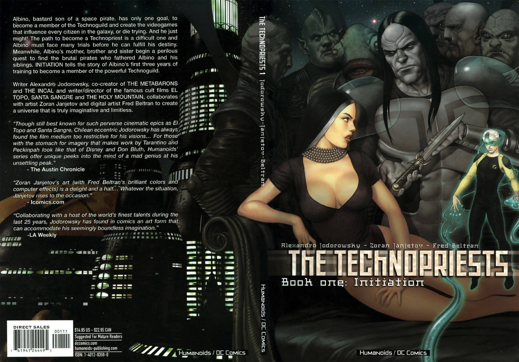 The Technopriests : Book One (Initiation) & Book Two (Rebelion)