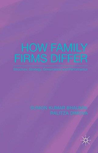 How Family Firms Differ: Structure, Strategy, Governance and Performance(Repost)