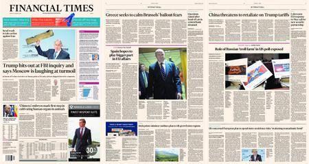 Financial Times Europe – 19 February 2018