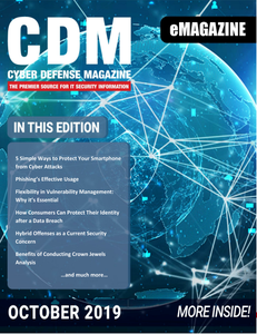 Cyber Defense Magazine - October 2019