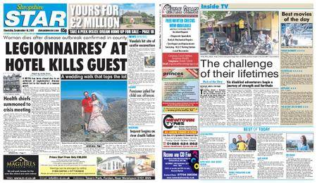 Shropshire Star Shrewsbury Edition – September 14, 2017