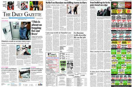 The Daily Gazette – February 19, 2018