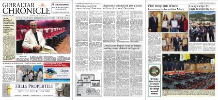 Gibraltar Chronicle – 23 April 2021