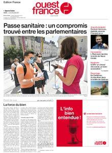 Ouest-France Édition France – 26 juillet 2021