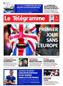 Le Télégramme Brest Abers Iroise – 02 février 2020